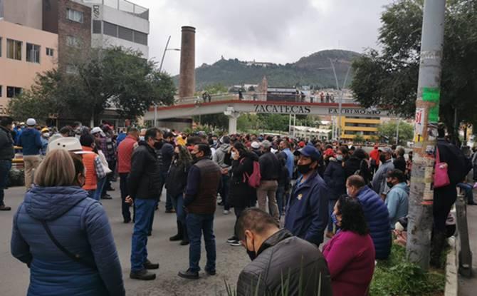 Estallan protestas por nueva de Ley del Issstezac (Zacatecas)