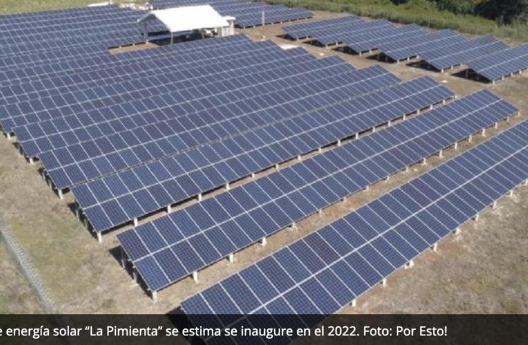 Con engaños, proyecto de energía solar 'La Pimienta' busca operar en Campeche