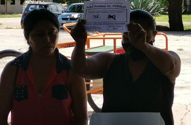 Dos comunidades dicen NO a la industria porcina en Yucatán