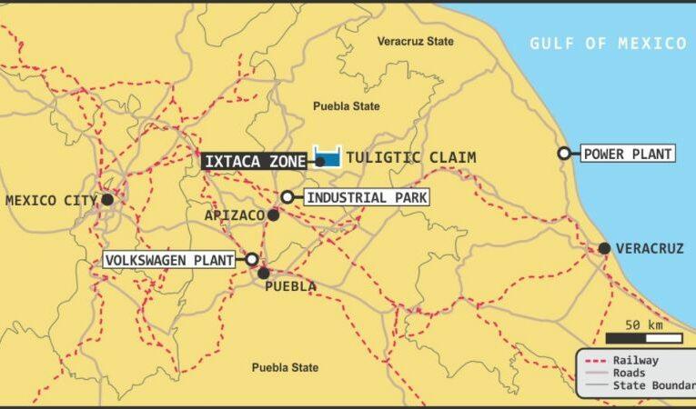 Ixtacamaxtitlán denuncia actividades de exploración ilegal de la minera Almaden Minerals (Puebla)
