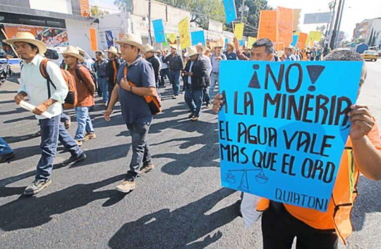 Pobladores de San Pedro Apóstol, Oaxaca exigen a Semarnat no ceder a presiones de minera