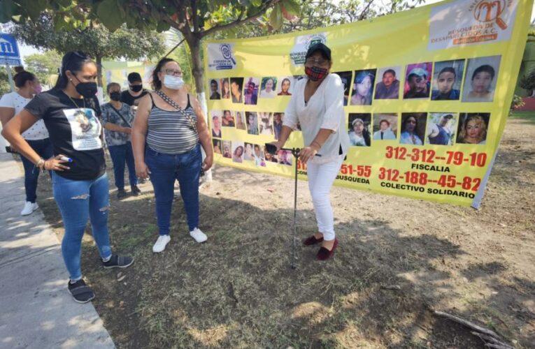 Piden familias apoyo para contar con más herramientas para buscar a sus desaparecidos (Colima)
