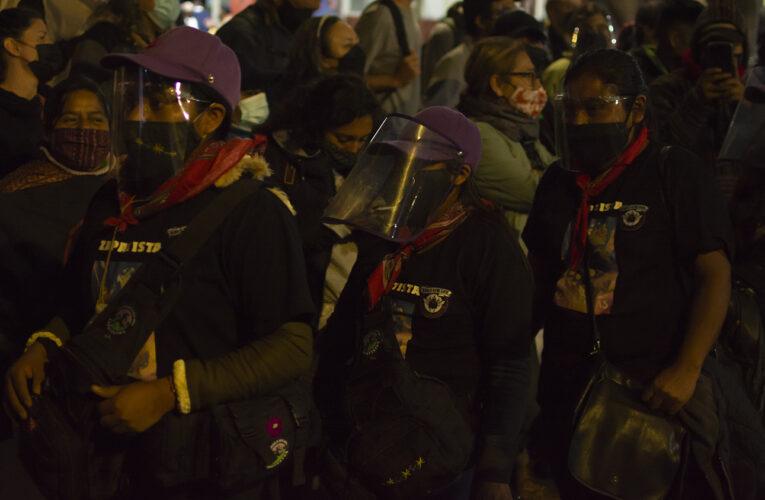 LLEGA EZLN A LA CDMX (FOTOS)