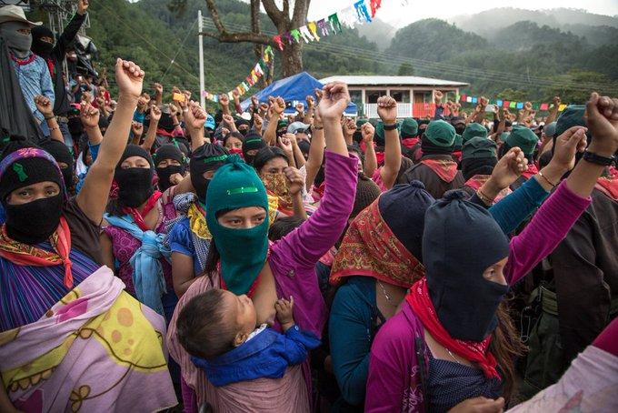 Comunidad nahua de Santa María Ostula, integrante del Congreso Nacional Indígena, se solidariza con las comunidades Zapatistas