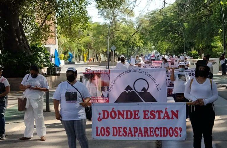 Exige Red a diputados que aprueben leyes que eviten desapariciones en Colima