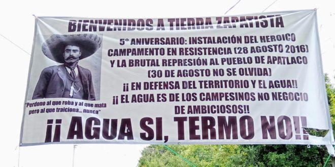 Hereder@s de la revolución zapatista en Morelos acompañan la Travesía por la Vida del EZLN por Europa