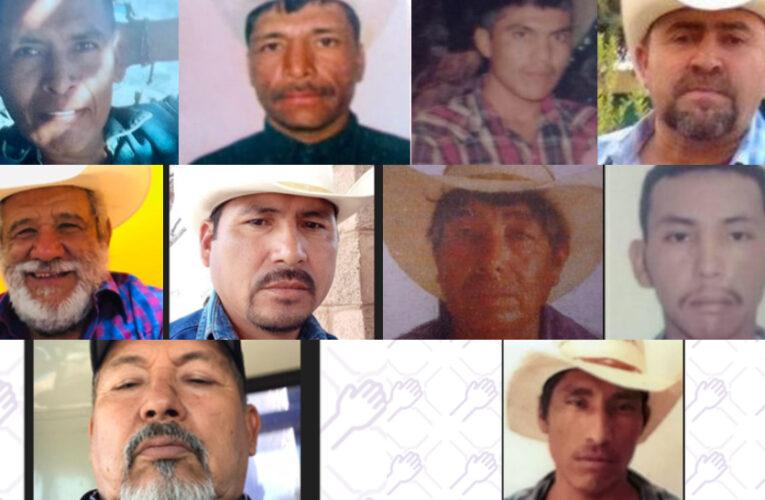 En manifestación, niegan diálogo con AMLO a familiares de yaquis desaparecidos (Sonora)