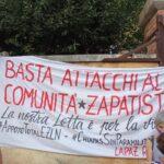 Manifestantes en decenas de ciudades de Europa exigen al gobierno mexicano acabar con los ataques a las comunidades zapatistas (galería de fotos y videos)