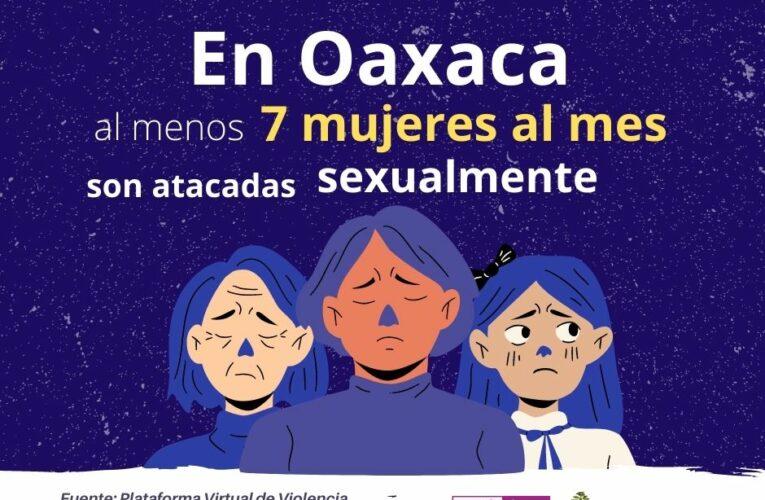 Incrementan delitos sexuales en Oaxaca
