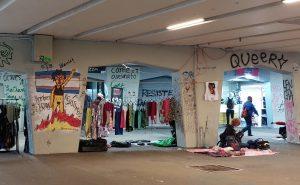 'La tianguis', un espacio de trabajo donde la población LGBTIQ+ lucha por sobrevivir (Ciudad de México)