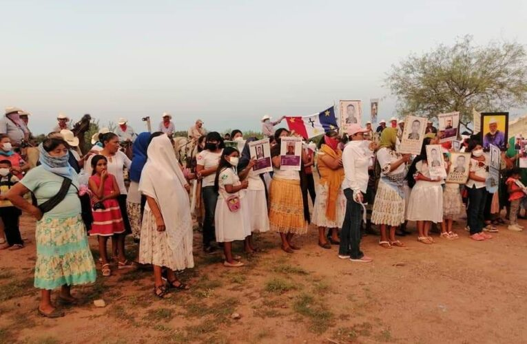 """El """"Plan de Justicia"""" detrás de las vallas y desapariciones: el pueblo yaqui de Loma de Bácum exige justicia"""