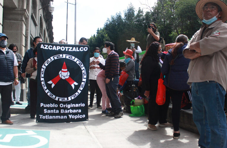Pueblos y barrios originarios de CDMX luchan por reconocimiento oficial