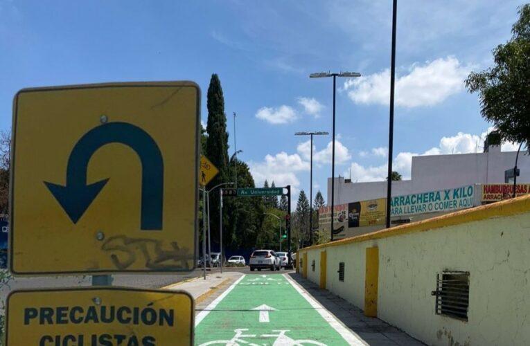Ser ciclista en Querétaro: un riesgo inminente