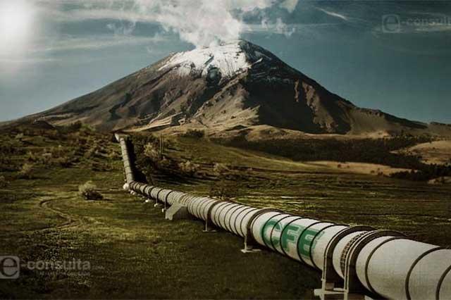 Policía de Tlaxcala protege obras del gasoducto Morelos