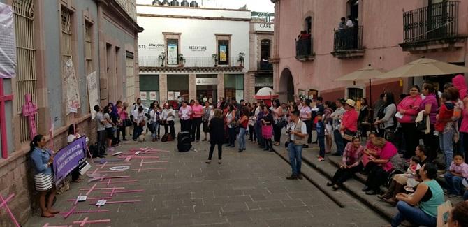 Marchan contra feminicidios en Zacatecas; 13 este año