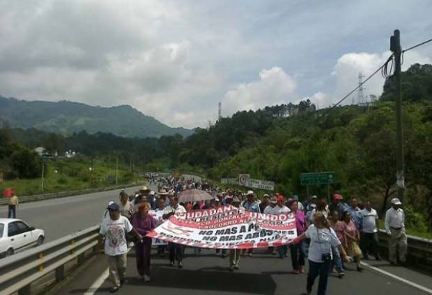 Huauchinango en resistencia civil contra CFE por adeudo de 400 mdp (Puebla)
