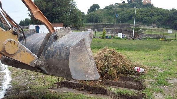 Denunciarán obras en zona arqueológica de Cholula ante el INAH