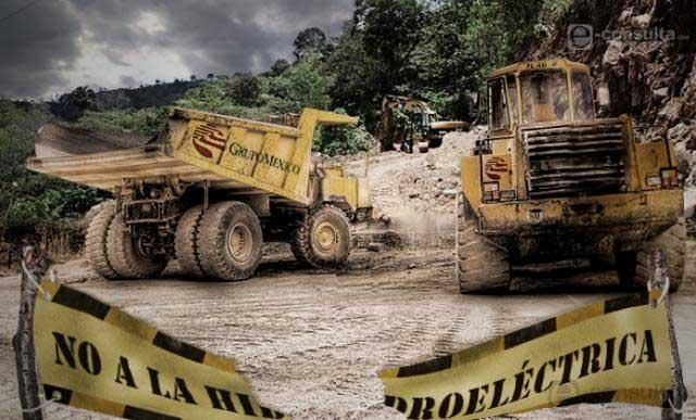 Comunidades de la Sierra Negra se unen contra hidroeléctrica Coyolapa