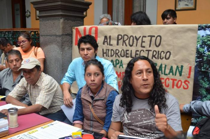 Sistema hidroeléctrico en la Sierra Negra, una amenaza para 3 municipios indígenas