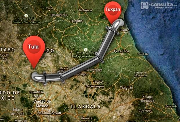 Gasoducto Tuxpan-Tula es rechazado por indígenas de 7 municipios de Puebla