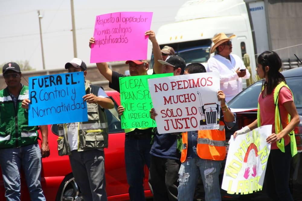 Se manifiestan contra Grupo Modelo (Zacatecas)