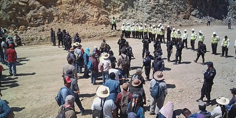 Ejidatarios se unen en contra de los abusos de minera canadiense: le retiran sus tierras