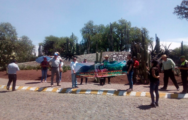 Denuncian en Teotihuacán ecocidio por obras del Nuevo Aeropuerto