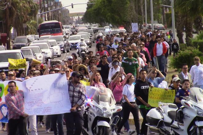 Crece indignación por secuestro de mexicalense y otros estudiantes de cine de Guadalajara (Baja California)