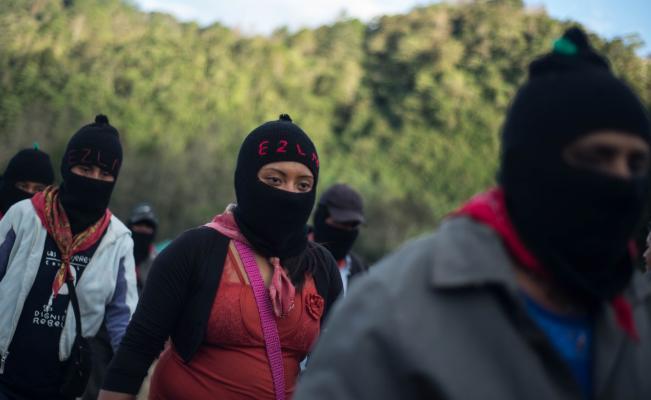 Inicia Conversatorio del EZLN en San Cristóbal de las Casas