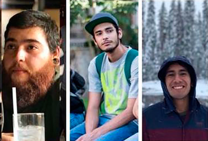 Hombres armados se llevan a tres estudiantes de cine en Guadalajara; marchan para exigir su aparición