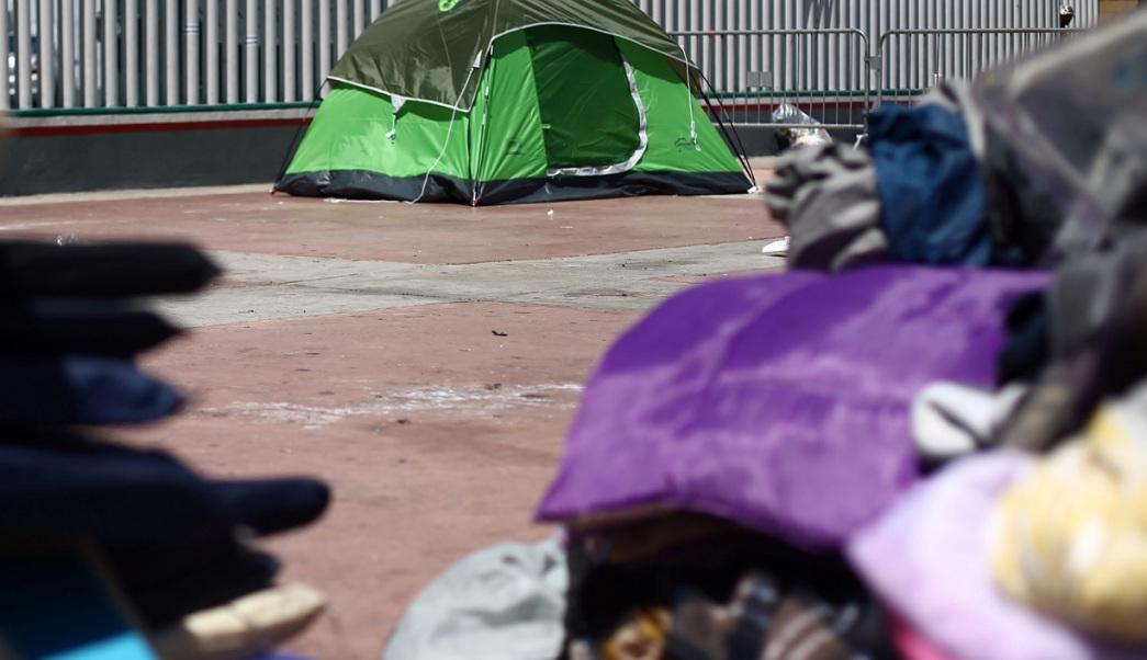 Migrantes levantan plantón y huelga de hambre en Sonora