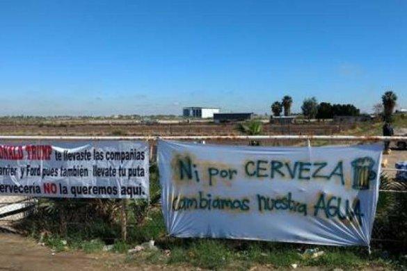 Ordenan a Conagua informar y transparentar  documentos sobre instalación de Constellation Brands en Mexicali (Baja California)