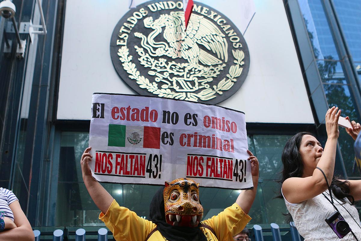 Tribunal notifica a la PGR para que acate sentencias por caso Ayotzinapa