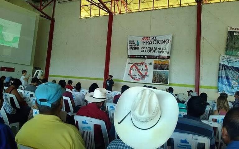 Huastecos anti Fracking levantan la voz en defensa de ecosistemas (San Luis Potosí)