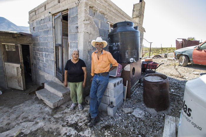 Un día llegó la minera de Canadá y les quitó sus tierras con plata. Puros viejitos. 14 años luchando (Coahuila)