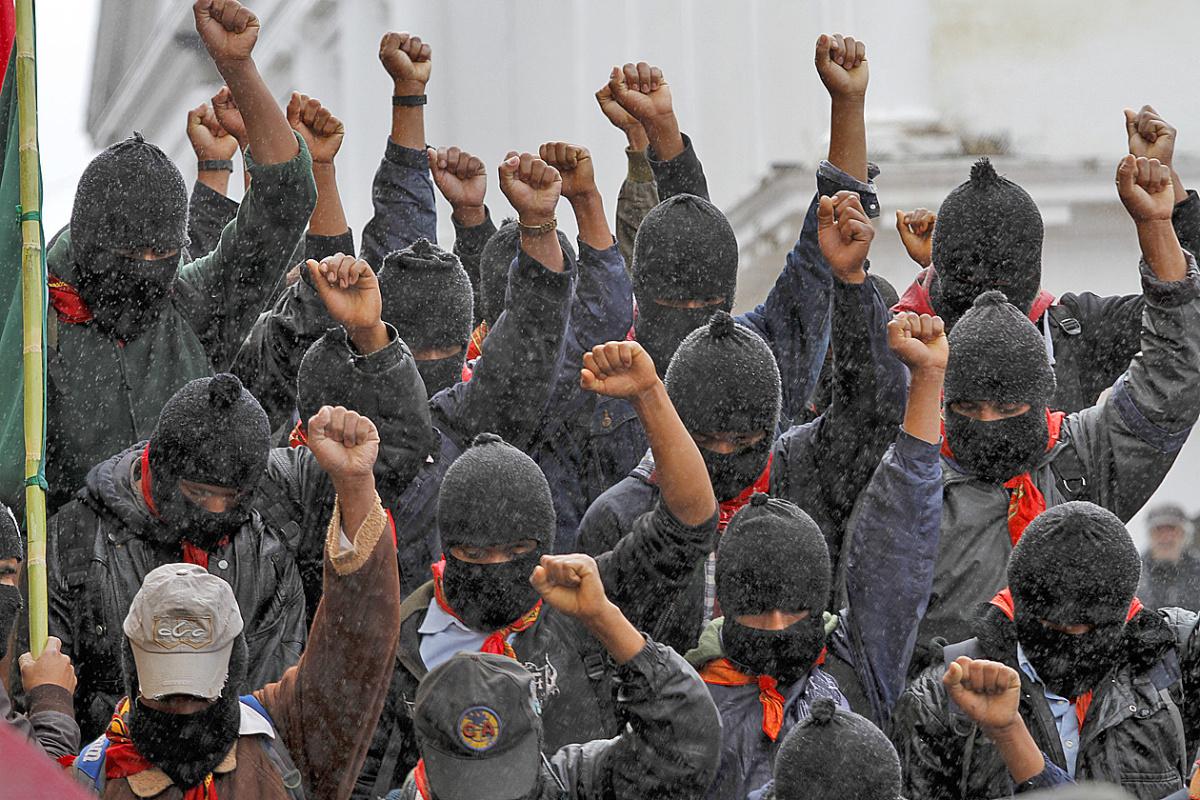 Invitación a la celebración del 25 Aniversario del Alzamiento Zapatista y a un Encuentro de Redes