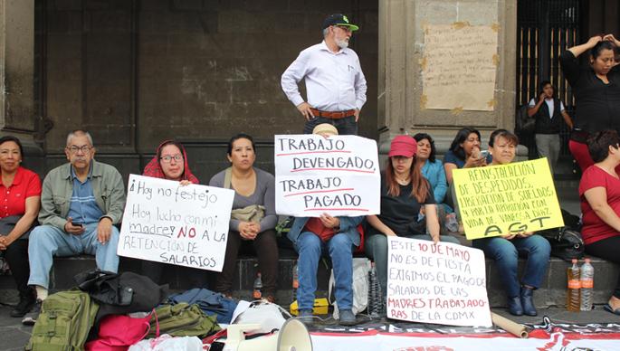 Gobierno de la Ciudad reprime organización de trabajadores