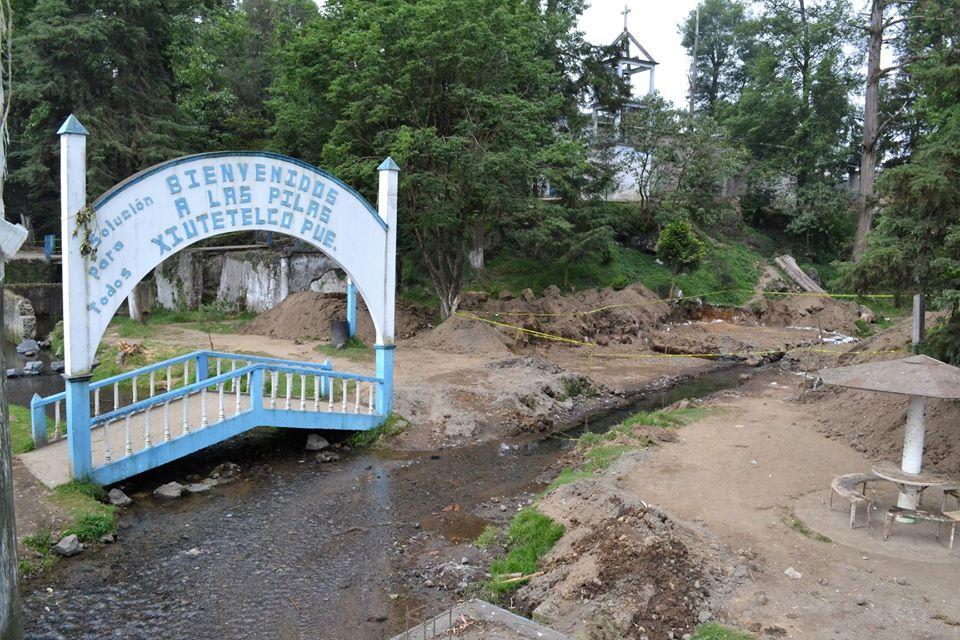 Sin permisos, reanudan obra en zona prehispánica de Xiutetelco (Puebla)