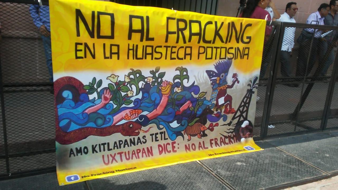 """DE NUEVO AMENAZA EL """"TRACKING"""" (SIC) A LA HUASTECA (San Luis Potosí)"""
