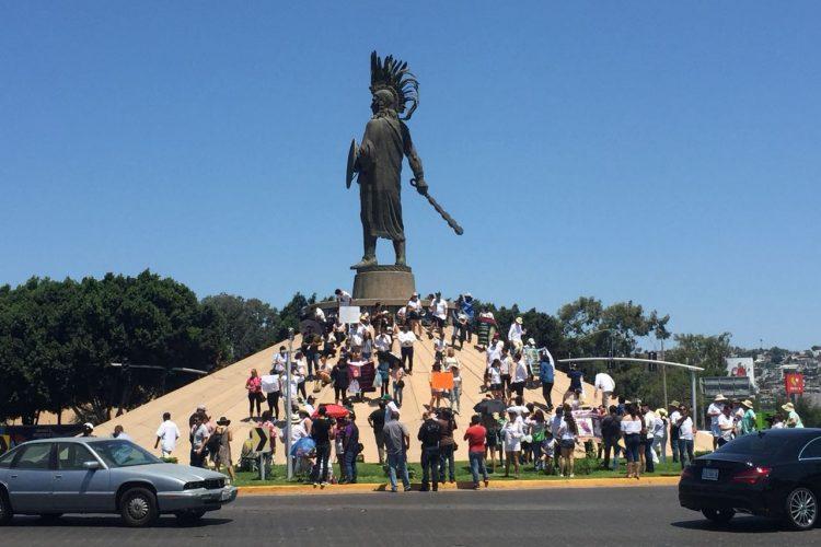 Realizan marcha contra la inseguridad y violencia en Tijuana (Baja California)