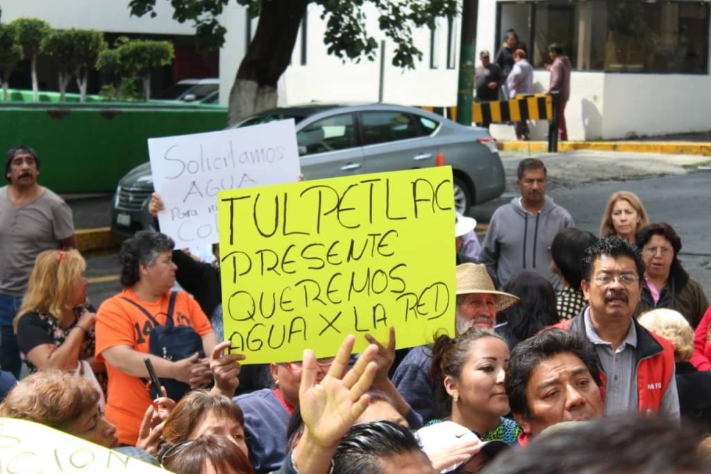 VIDEO: Vecinos de Ecatepec protestan por falta de agua en la CAEM; llevan años sin el servicio