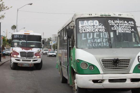 A partir de octubre el aumento de  2.50 pesos en la tarifa de transporte público en Mexicali (Baja California)