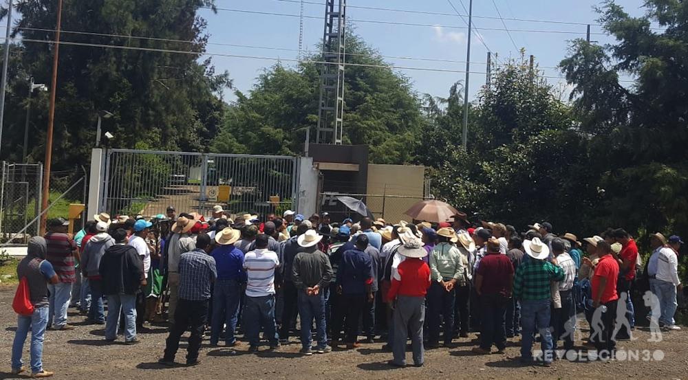 Comunidades indígenas toman instalaciones de la Subestación Eléctrica Carapan (Michoacán)