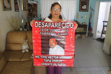 """""""Llegaron los agentes y se llevaron a mi esposo"""" (Coahuila)"""