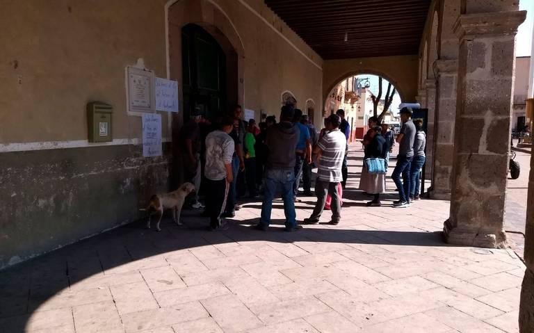 Paralizan alcaldía de Villanueva (Zacatecas)