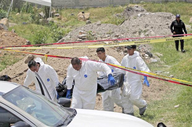 México minado por fosas clandestinas (Baja California)