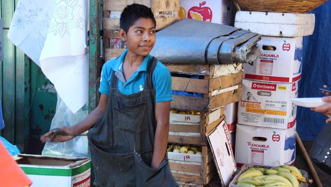 Oaxaca, el quinto estado del país con más incidencia de trabajo infantil