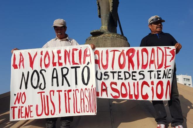 Protestan por la violencia en Tijuana; exigen resultados a las autoridades (Baja California)