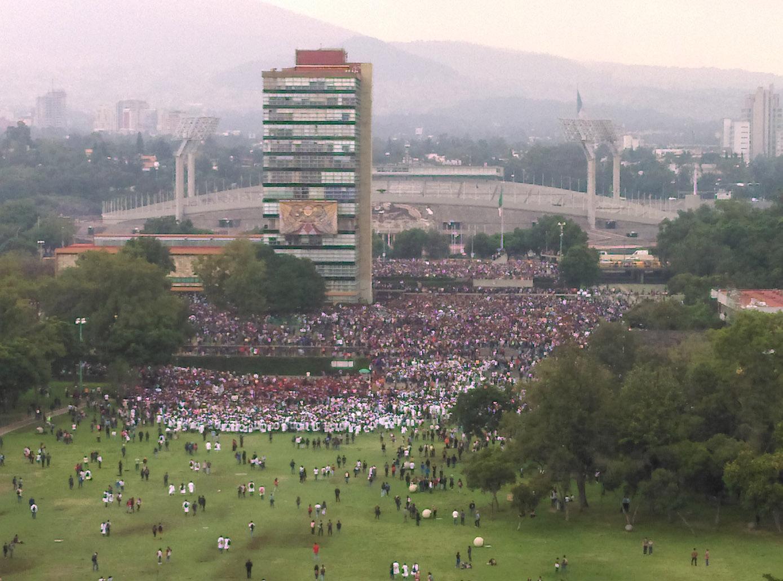 Las múltiples voces de la rabia contra el porrismo y la violencia en la UNAM (Ciudad de México)