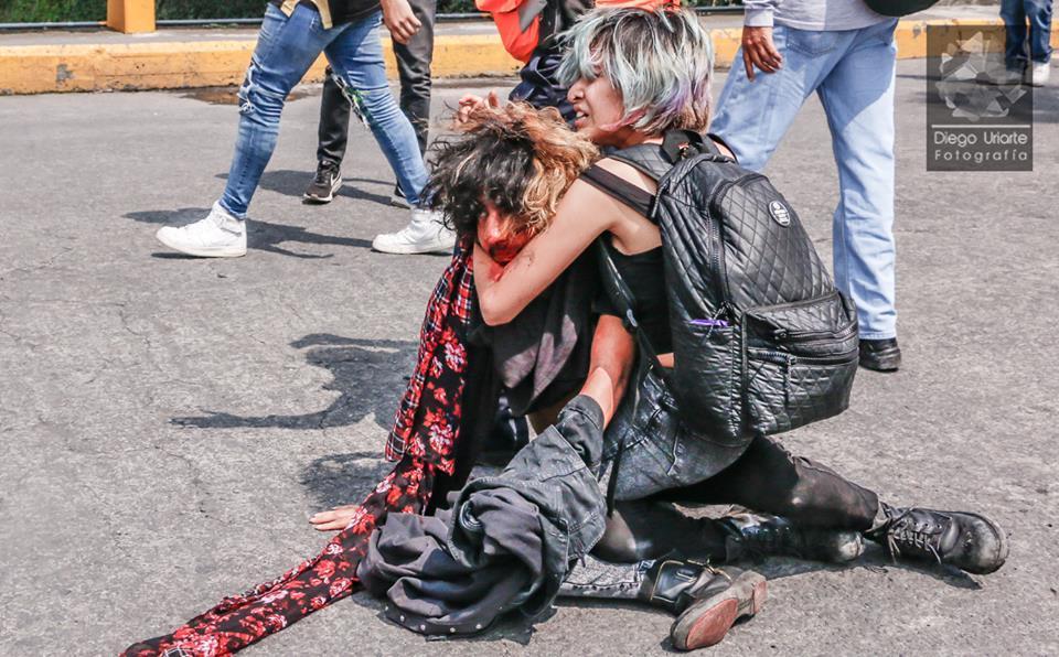 Complicidad de autoridades de la UNAM en ataque porril provoca paros y movilización estudiantil (CDMX)